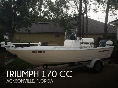triumph inflatable boats for sale used 2009 triumph 170 cc in jacksonville florida