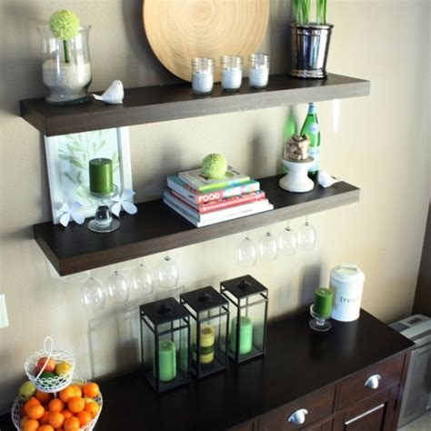 dining room floating shelves 17 best images about dining room storage on
