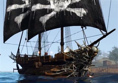 Black And The Ship Of Thieves ships
