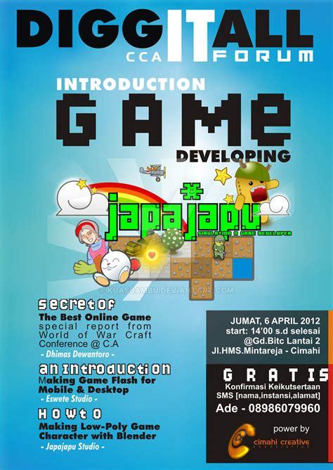 game design contest 2015 game seminar poster design by kuasbambu on deviantart