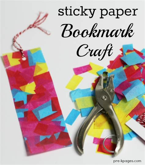 Paper Craft Bookmarks - s day gifts with sticky paper bookmarks