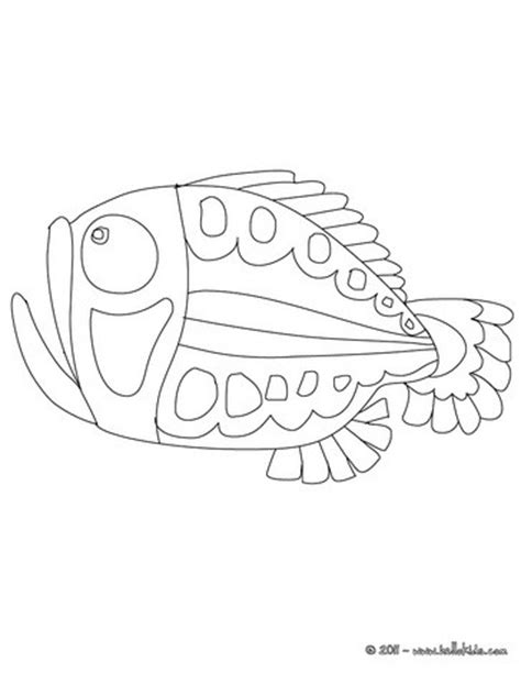 scary fish coloring pages scary fish coloring pages hellokids com