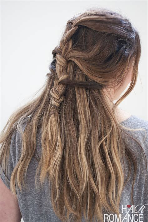 how to keep braids from coming a loose at ends loose french braid tutorial for long hair hair romance