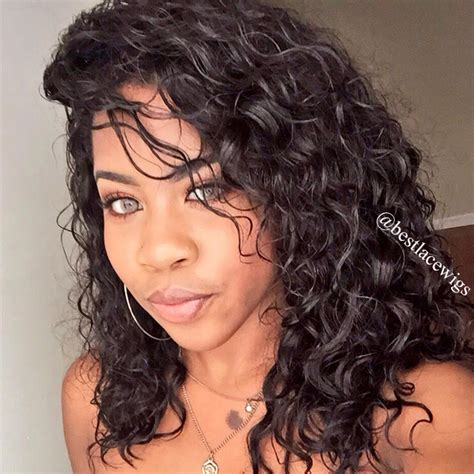 Lace Front Wigs With Deep Wave Virgin Human Hair   www