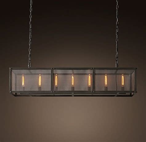 restoration hardware rain chandelier 1000 ideas about rectangular chandelier on pinterest