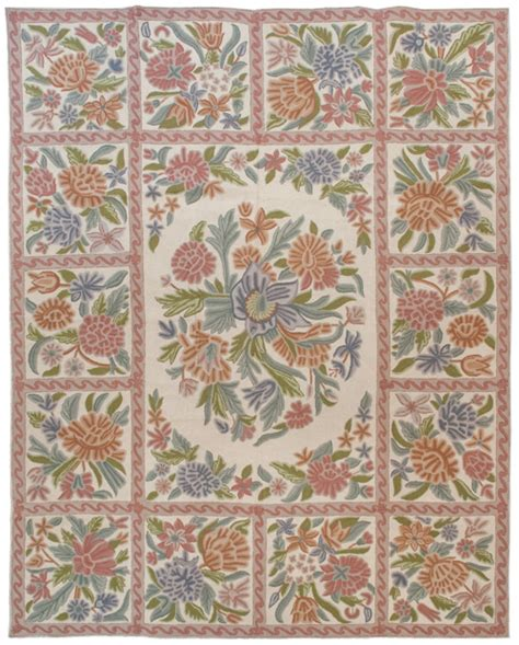chain stitch rugs 8 215 10 vintage chain stitch rug rug warehouse outlet