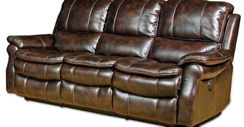 Reclining Sofa Loveseat And Chair Sets Seth Genuine Leather Reclining Sofa And Loveseat Sets