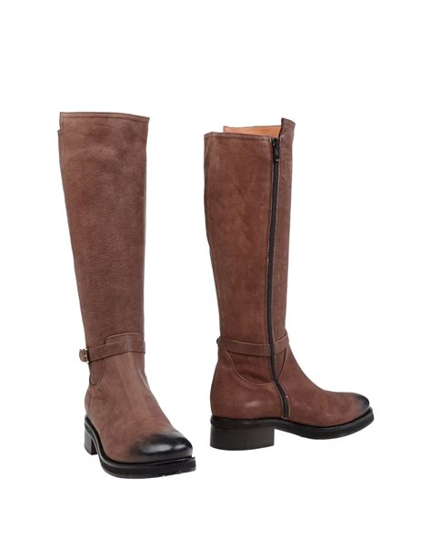 Napoleon Boots napoleoni boots in brown lyst
