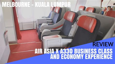 review airasia x economy class from taipei to kuala review airasia x premium and economy class