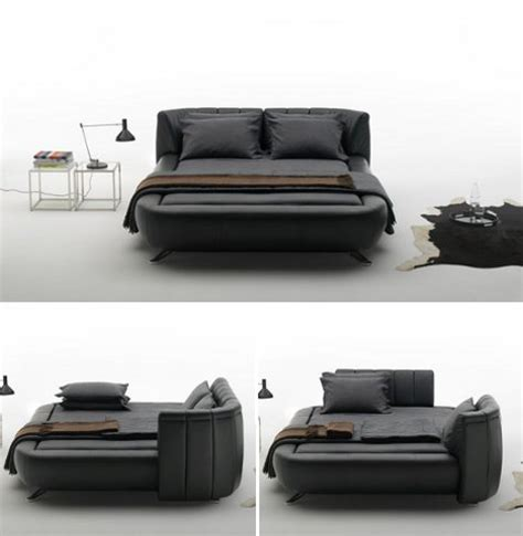 bed in a couch beyond sofa beds 7 creative new kinds of sleeper couch