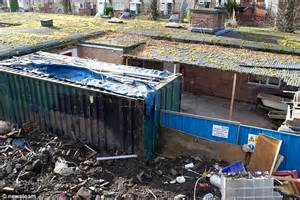 underground grow room adrian dealer kept cannabis factory in shipping container buried in his back garden