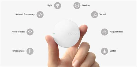 IOT: The Future Of Home Monitoring; Notion Startup Raises