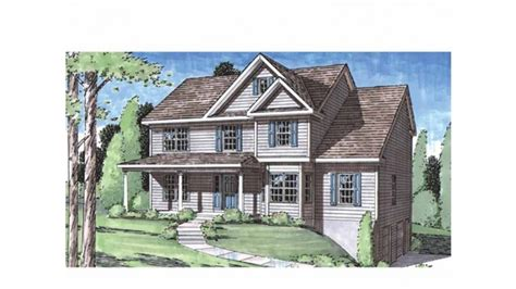 front sloping lot house plans for a sloping lot hwbdo73176 georgian from builderhouseplans