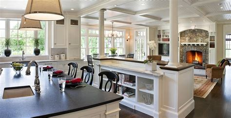open concept with the kitchen open concept kitchen living room design ideas