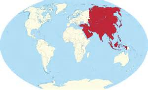 Asia On World Map by File Asia In The World Red W3 Svg Wikimedia Commons