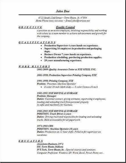 Qa Resume Cover Letter Sles Qa Tester Resume Sle One Occupational Exles Sles Free Edit With Word