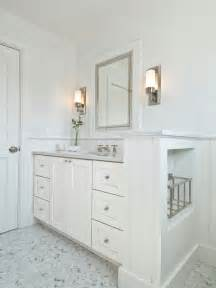 Small Bathroom Vanity Sets Marble Herringbone Tile Floor Cottage Bathroom