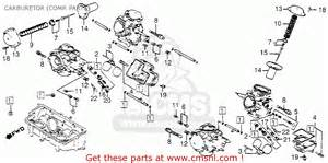 honda vf1100c v65 magna 1985 usa carburetor comp parts
