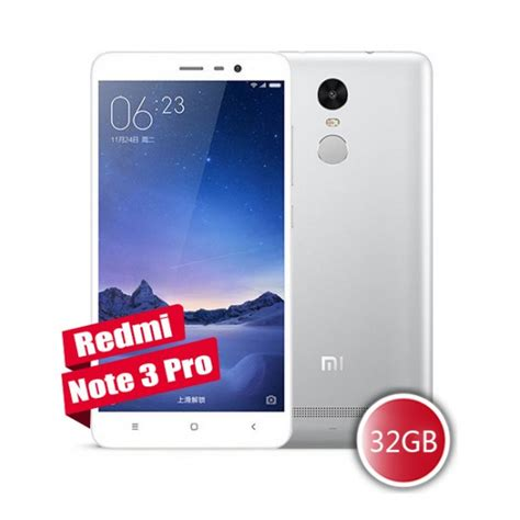 Xiaomi Redmi Note 3 Pro Ram 3gb Rom 32gb Grey New 1 Tahun buy xiaomi redmi note 3 pro silver color qualcomm snapdragon 650 hexa 1 8ghz 3gb ram 32gb