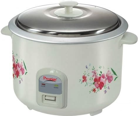 Rice Cooker Cosmos 2 Liter prestige prwo 2 8 2 electric rice cooker with steaming feature price in india buy prestige