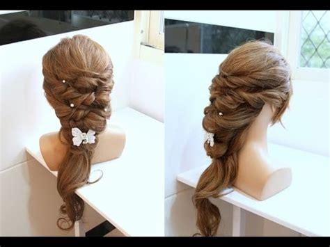 diy hairstyles youtube 橡皮筋綁頭髮 蓬鬆公主髮型 diy rubber band hairstyles youtube