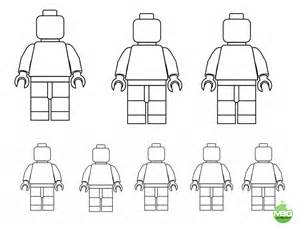 Free Printable Drawing Templates by Lego Template Draw Your Family Printable