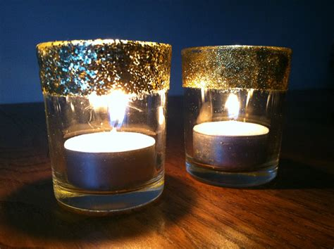 candele votive glitter votive candle holders crafting and cooking