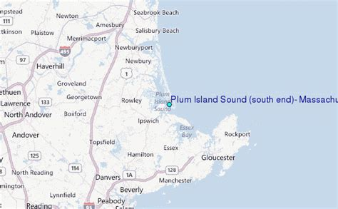 plum island sound south end massachusetts tide station