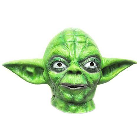 Masker Green Mask Spirulina wars yoda green mask