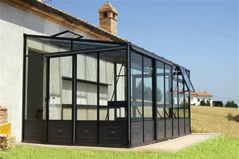 veranda da giardino euroserre italia veranda per piante serra addossata da