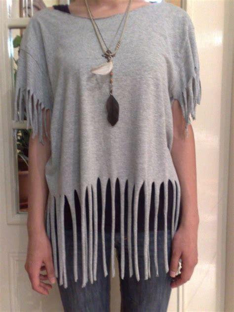 t shirt recon fringes my style tutorials