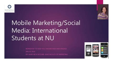 In Media For Mba Marketing by Mobile Marketing And Social Media Mba Specialization At Nu