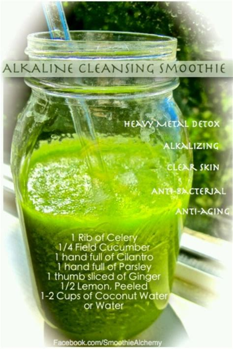 Alkaline Detox Juice Recipe by Alkaline Green Smoothie Detox Vitamix