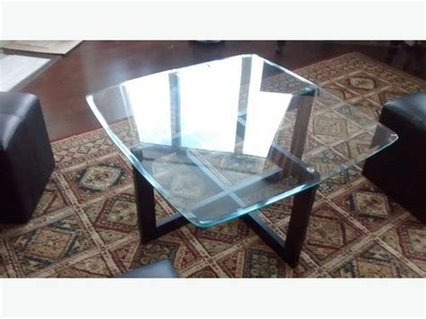 glass ottoman coffee table glass coffee table with ottomans nepean ottawa