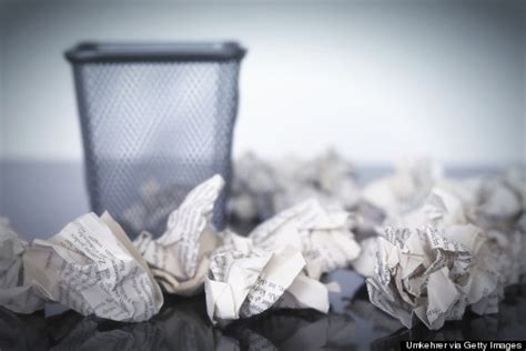 How To Make A Paper Trash Can - 6 ways to lighten the weight of guilt huffpost