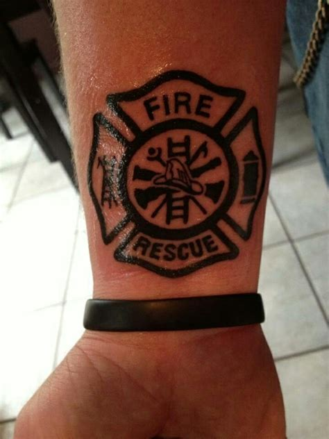 fire cross tattoos 25 best firefighter tattoos ideas on maltese