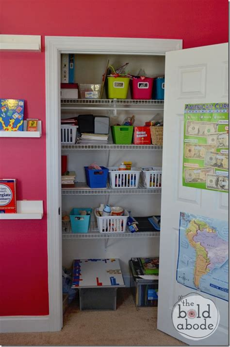 School Closet by 3 Creative Storage Solutions Baby