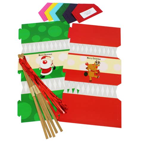 christmas cracker supplies make your own crackers pk06 bright ideas crafts