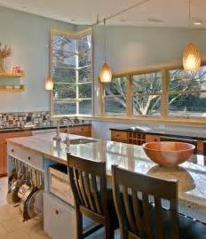Kitchen Island Hanging Pot Racks by Look A Low Hanging Pot Rack Kitchen Inspiration The