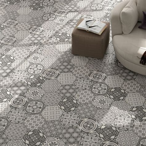 Cement Tiles Optic Hexagon Floor Tiles Alicante LZ69447