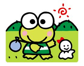 Kero Keropi kero kero keroppi animated line stickers for android