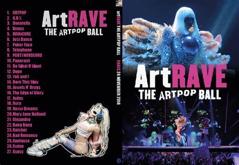 Dvd Import Gaga Tour artrave dvd cover slim by york on deviantart