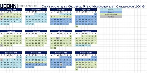 Uconn Stamford Mba Schedule by Course Sequence Graduate Programs In Risk Management