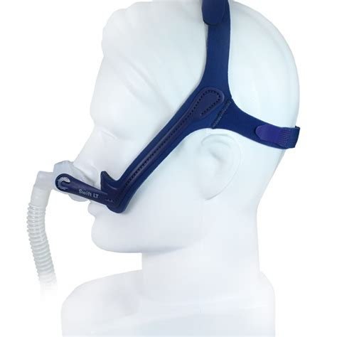 resmed lt cpap nasal pillow mask with headgear
