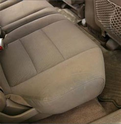 Clean With Upholstery Shoo by Interior Repair Clean Auto Detailing Llc