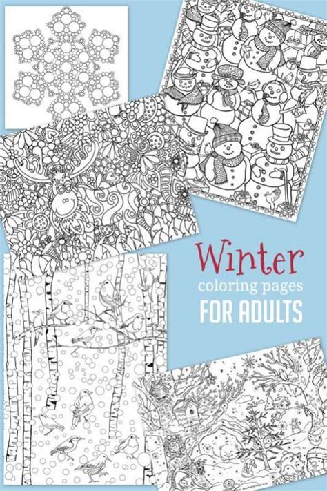 winter break coloring page christmas winter coloring pages for kids to color