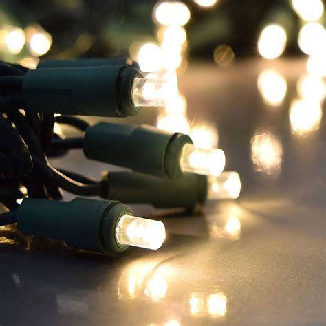 led white string lights warm white led string lights 60 lights