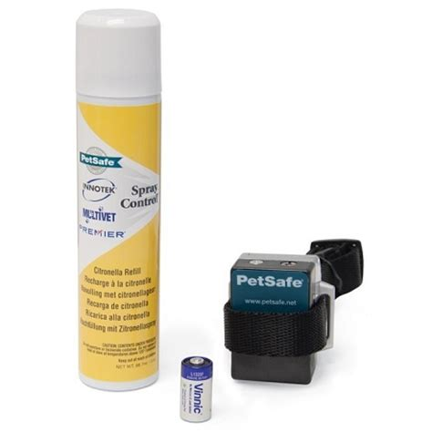 spray collar petsafe citronella spray bark collar