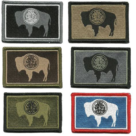 state tactical patches wyoming shoulder patch autohelper