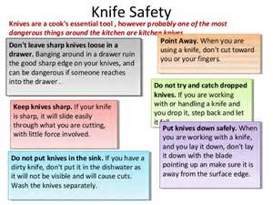 safety kitchen knives kitchen aid in the kitchen